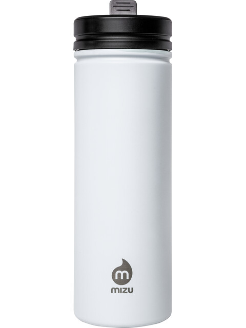 MIZU M9 Bottle with Straw Lid 900ml Enduro White